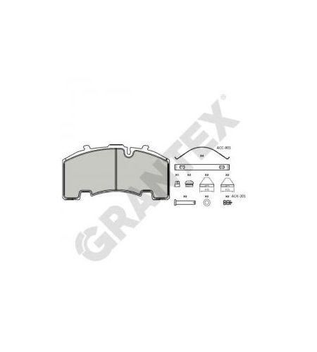 ΔΙΣΚΟΦΡΕΝΑ GRANTEX CV104 BPW SH 29171