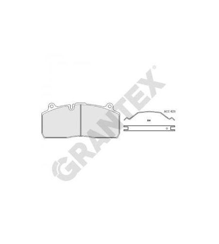 ΔΙΣΚΟΦΡΕΝΑ GRANTEX CV104 VOLVO FL II 29181