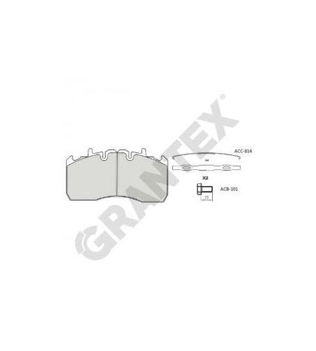 ΔΙΣΚΟΦΡΕΝΑ GRANTEX  CV104 MERITOR LM 29211