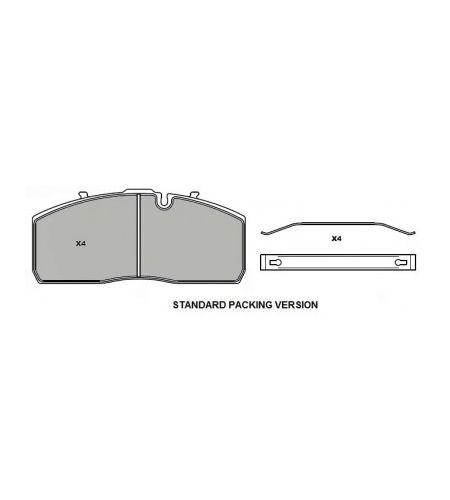ΔΙΣΚΟΦΡΕΝΑ GRANTEX CV104  MERCEDES DCA-L7 HALDEX