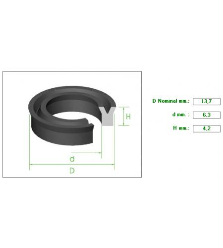 ΡΟΔΕΛΑ 13.7Χ6.3Χ4.2mm