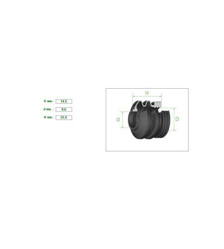 ΦΥΣΟΥΝΑΚΙ ΔΑΓΚΑΝΑΣ 14,5-9,6mm 22.4mm
